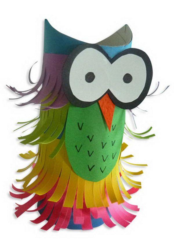 11 Maison De Halloween Hibou Artisanat   Idées De pour Hibou Rouleau Papier Toilette