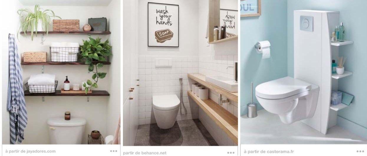 13 Astuces De Rangement Dans Les Toilettes: Étagère Diy pour Placard Pour Toilette