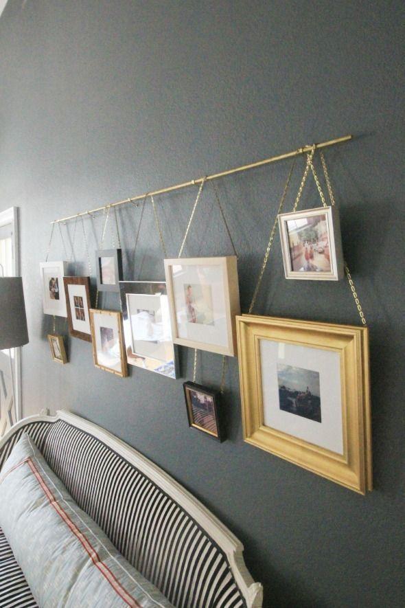 14 Façons D'Utiliser Les Tringles À Rideaux Décoratives intérieur Tringle Rideau Mur A Mur