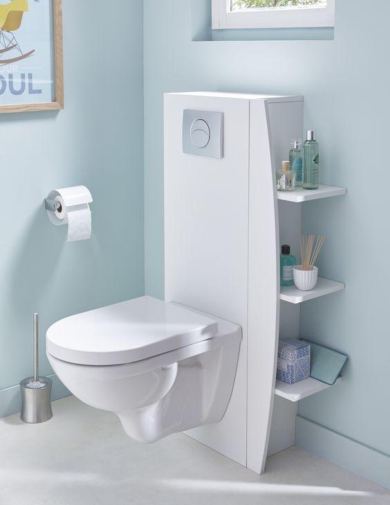 15 Idées De Rangements Astucieux Pour Votre Salle De Bain destiné Placard Pour Toilette