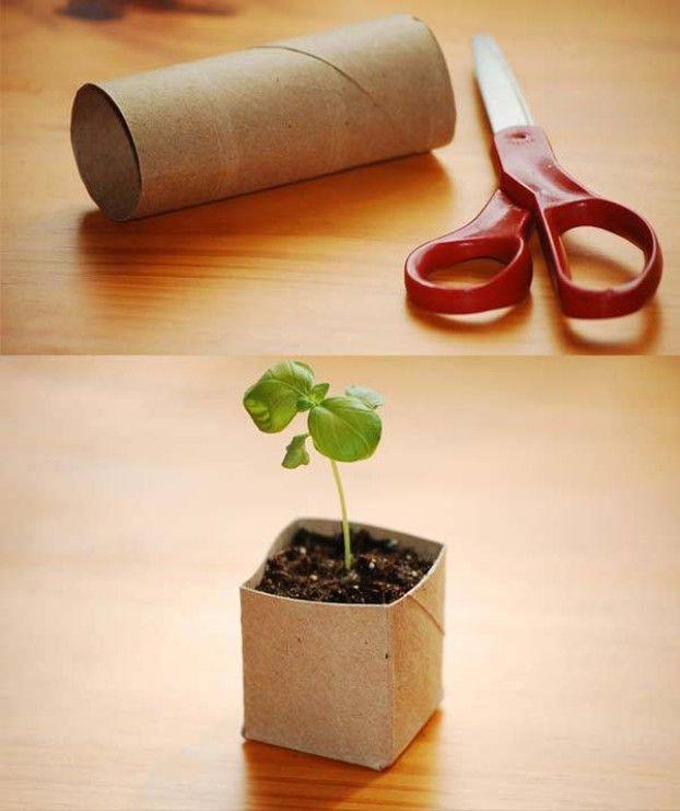 2- Avec Un Rouleau De Papier Toilette En Carton, Créez Un à Trefle Papier Toilette
