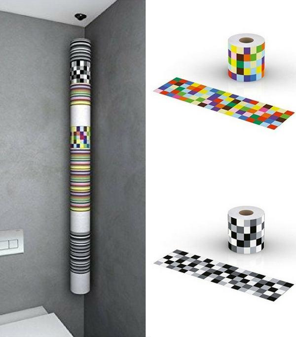 22 Idées De Rangement Pour Votre Papier Toilette avec Porte Papier Toilette Original