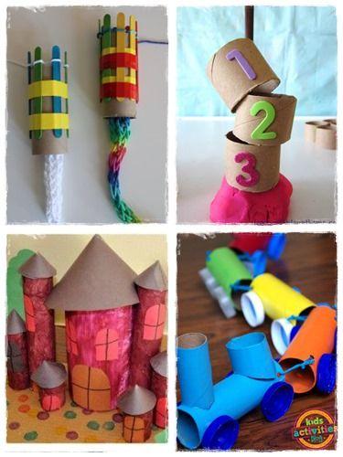 60 Bricolages Avec Des Rouleaux De Papier Toilette à Quoi Faire Avec Des Rouleaux De Papier Toilette