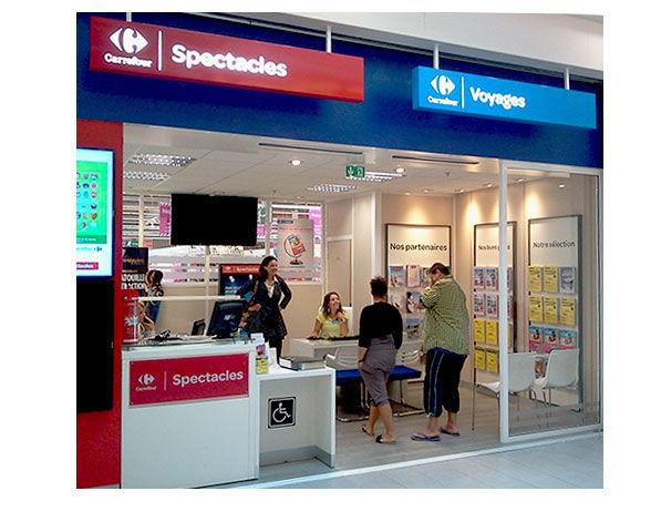 Agence De Voyage Vaulx En Velin - Rhône (69) | Carrefour intérieur Carrefour 7 Chemins