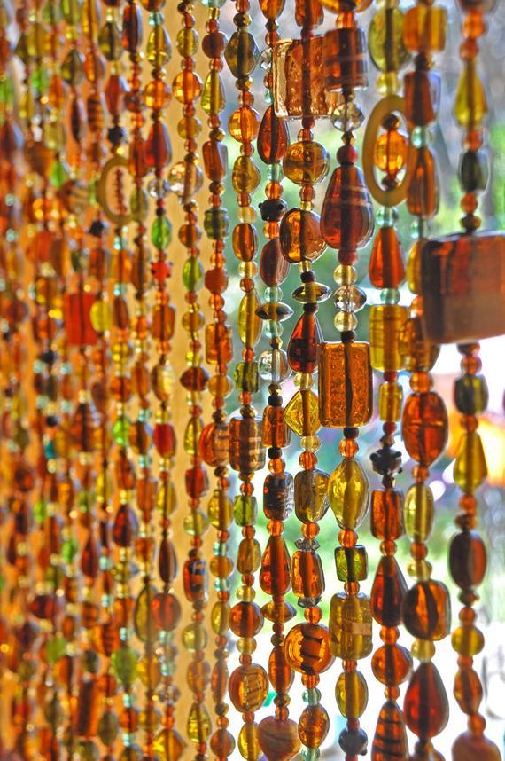Ähnliche Artikel Wie Tür Vorhang-Glas Perlen Vorhang-Glas concernant Rideau De Porte Fantaisie