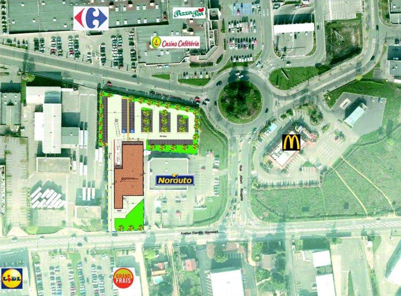 «Aldi» Vaulx-En-Velin (69)   Groupe Emin pour Carrefour Sept Chemins