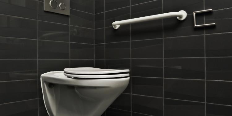 Aménagement D'Un Wc Handicapé Pour Senior | Abc Senior à Toilette Pmr