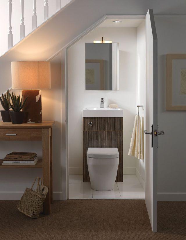 Aménager L'Espace Sous L'Escalier : Inspirations Déco dedans Toilette Sous Escalier