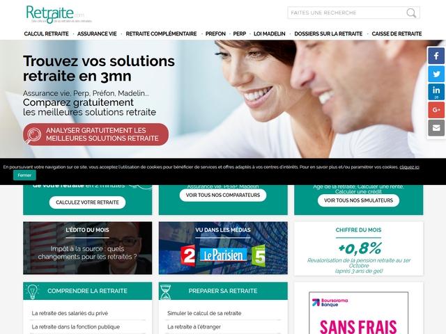 Annuaire2Site : Site Retraite : Calcul Montant Retraite En pour Calcul Du Chemin De Vie Gratuit