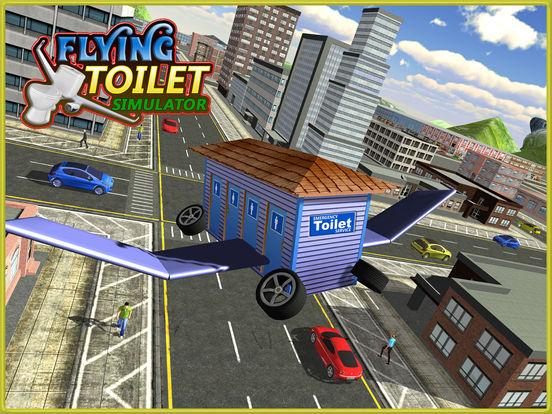 App Shopper: Flying Public Toilet Emergency Simulator (Games) dedans Toilette Simulator