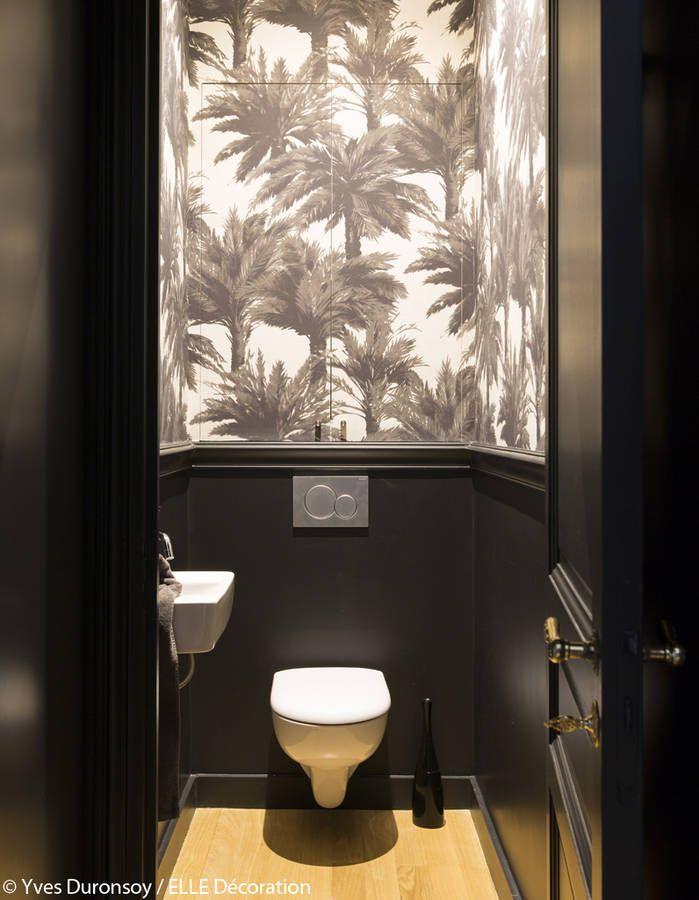 Appartement Haussmannien : Comment Décorer Un Appartement intérieur Toilettes Noires