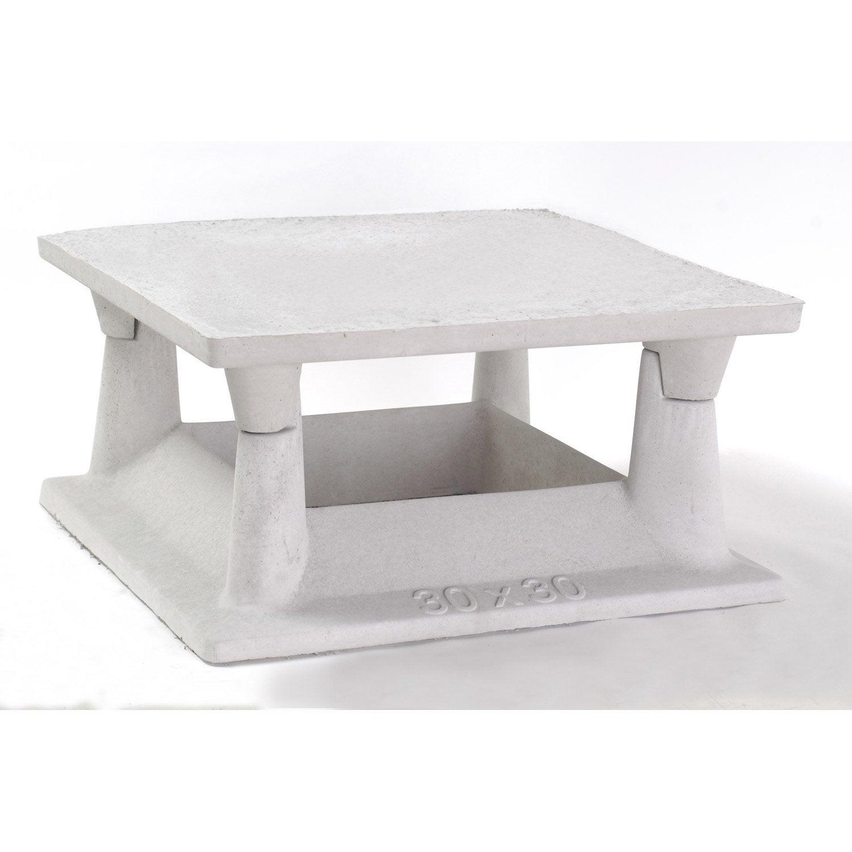 Aspirateur De Cheminée Legouez, 30X30 Cm | Leroy Merlin intérieur Cheminée De Table Leroy Merlin