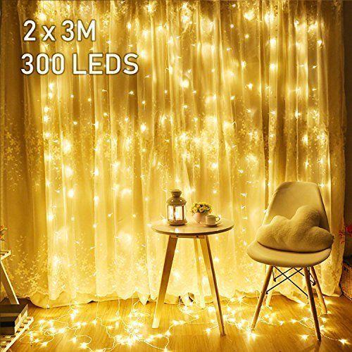 Avoalre Guirlande Lumineuse Exterieur 100 M / 500 Led à Rideau Exterieur Electrique