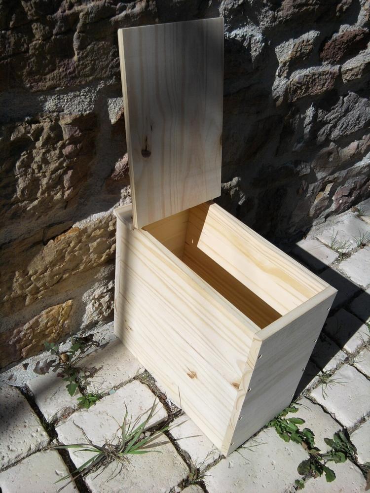 Bac A Sciure En Kit (Ou Monté) - Toilettes Sèches : Vente encequiconcerne Sciure Toilette Seche