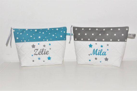 Box Cadeau Jumeaux, Frère Soeur Duo De Trousse De Toilette tout Trousse De Toilette Ado