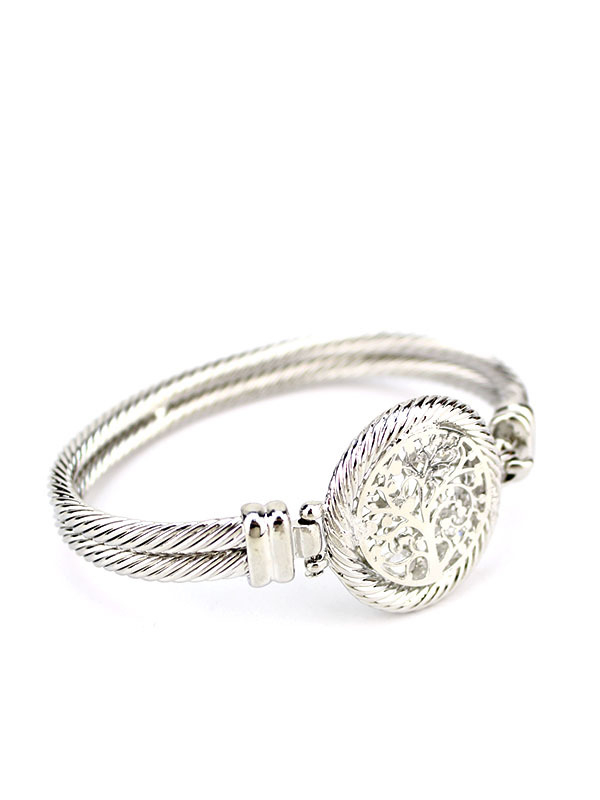 Bracelet Argenté Arbre De Vie Sym, Bracelet Jumelé En intérieur Bracelet Chemin De Vie Avis