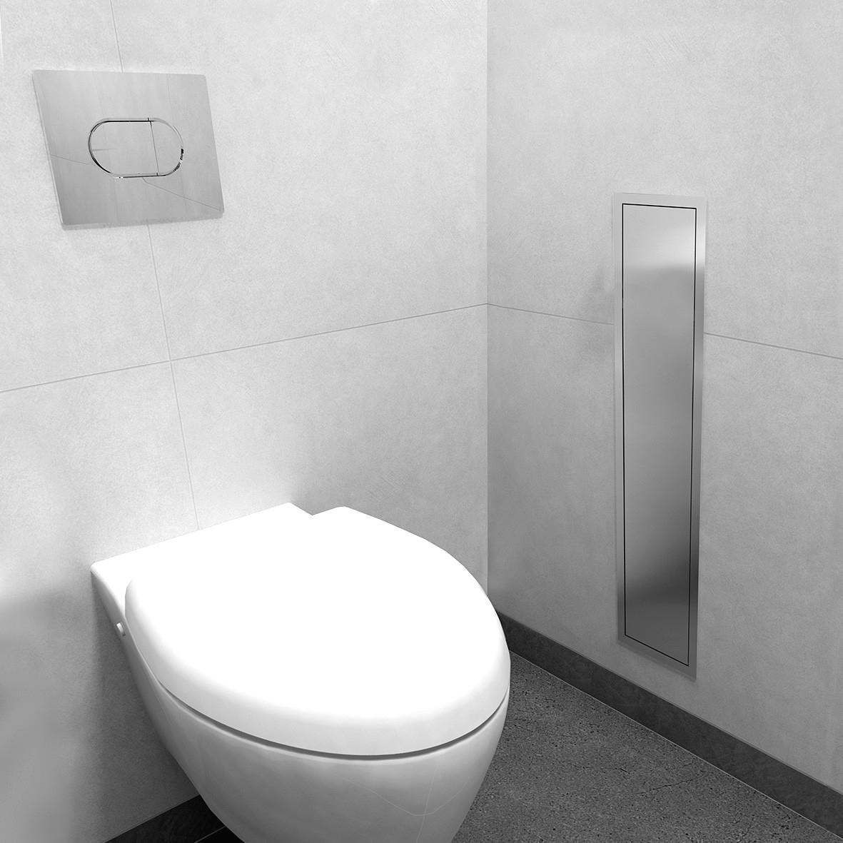 Brosse Wc Suspendu Portebrosse Wc Mural Nuova De Roca With destiné Toilette Suspendu Pas Cher