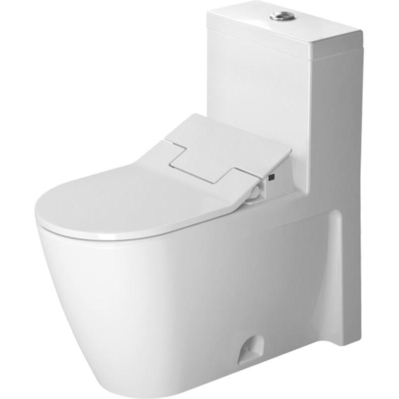 Buy Duravit 2133510005 One-Piece Toilet Starck 2 White W serapportantà Toilette Starck