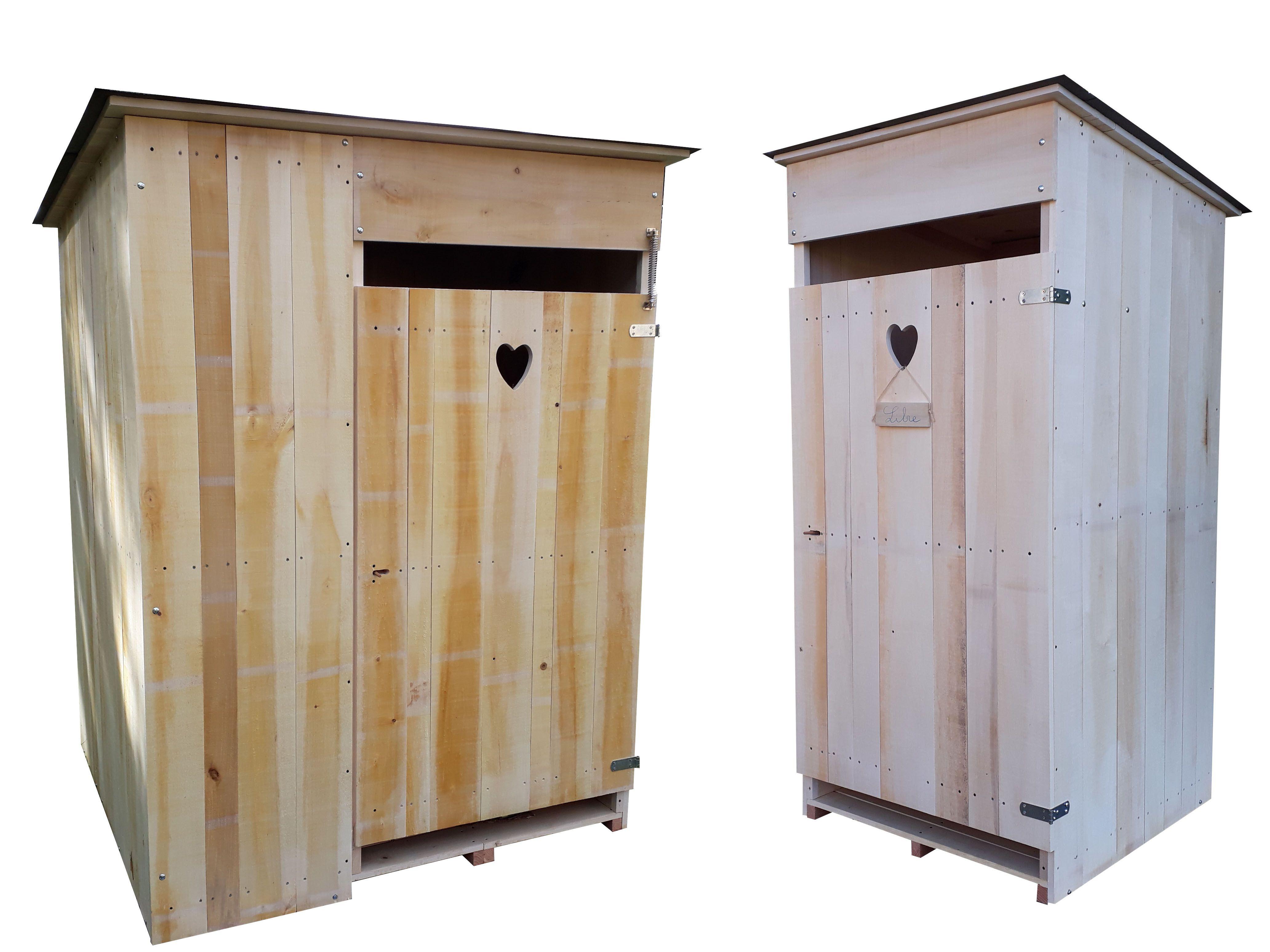 Cabanes De Toilettes Sèches Extérieur. Standard Et Pmr. I concernant Toilette Pmr