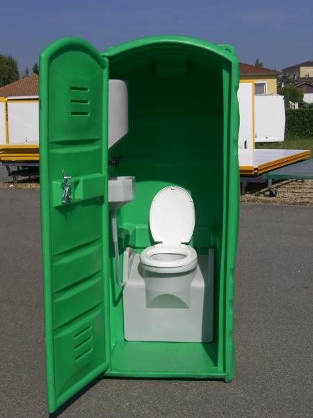 Cabine Wc - Sanitaires De Chantier - Abri De Chantier avec Toilettes Sèches Prix