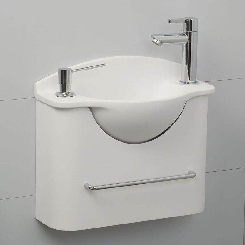Cacher Tuyau Pvc Wc pour Toilette Suspendu Avec Lave Main