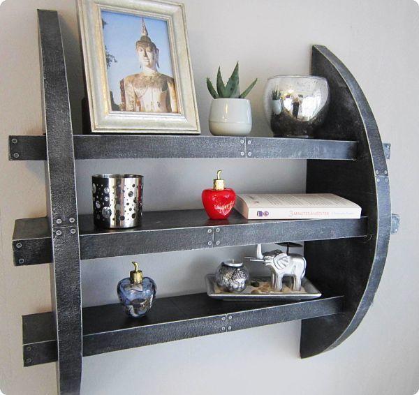 Cardboard Shelf - Phototutorial And Free Pdf Plan pour Cheminée En Carton Fiche Technique