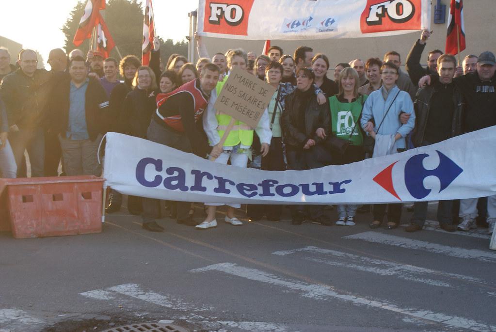 Carrefour: Des Salariés À La Croisée Des Chemins | Douai dedans Carrefour 7 Chemins