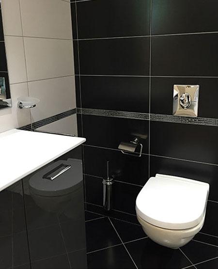 Carrelage Wc Suspendu Design - Atwebster.fr - Maison Et serapportantà Toilette Noir Suspendu