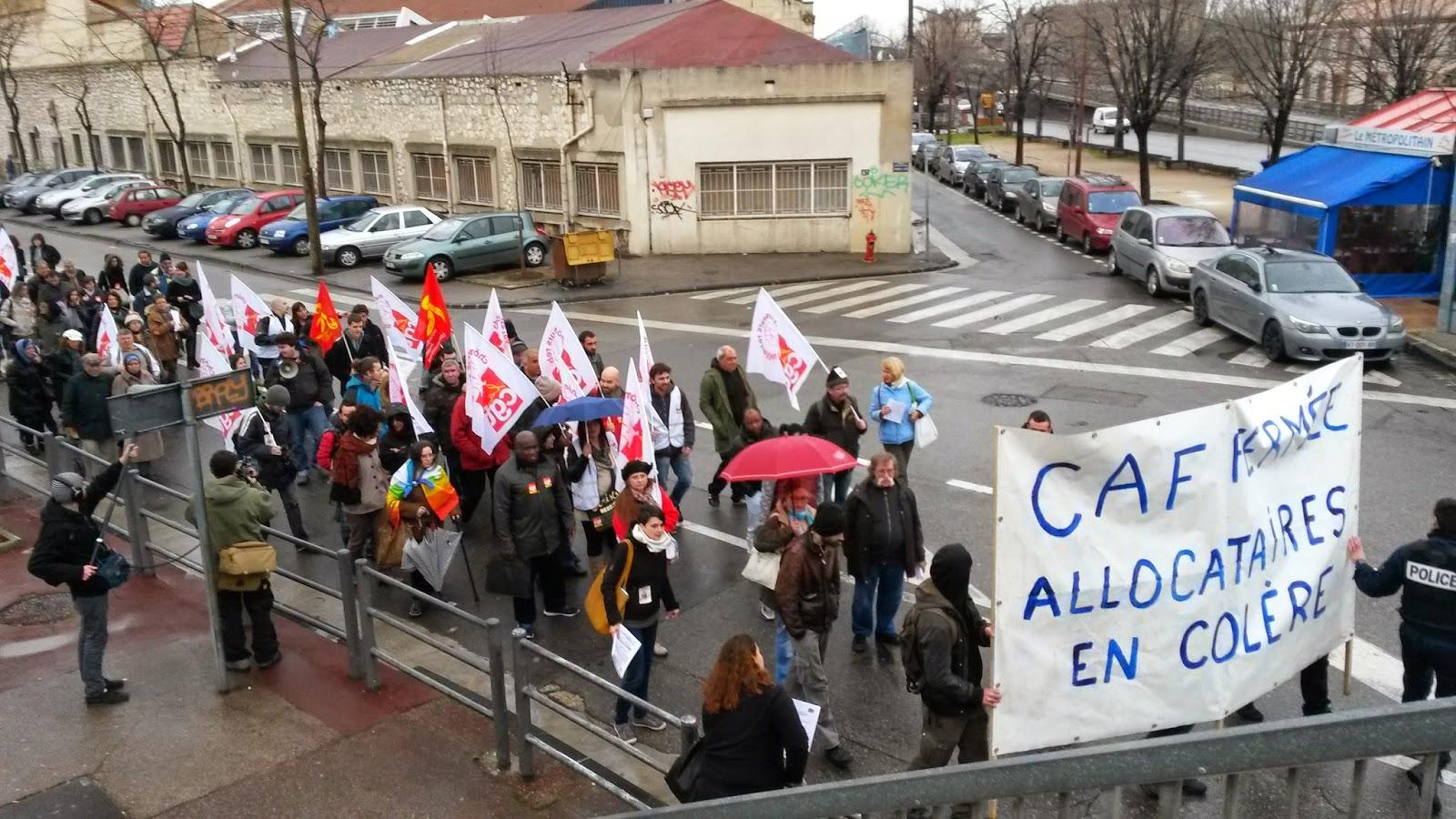 Cgt Chômeurs Et Précaires Marseille Centre-Ville: Retour pour Caf Chemin De Gibbes Marseille