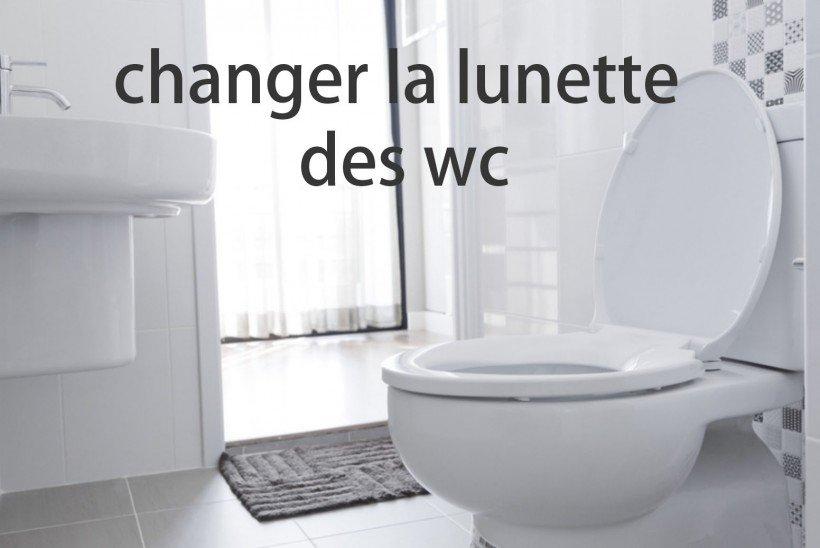 Changer La Lunette Des Wc - Astuces Pratiques pour Lunette De Toilette Originale