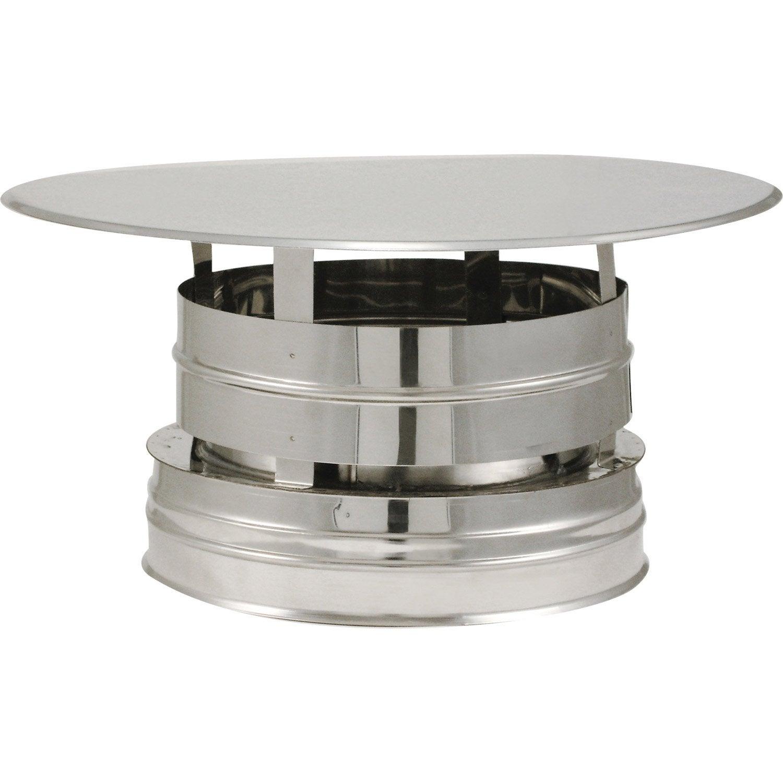 Chapeau Aspirateur Isotip Joncoux 180 Mm | Leroy Merlin à Aspirateur Pour Cheminée