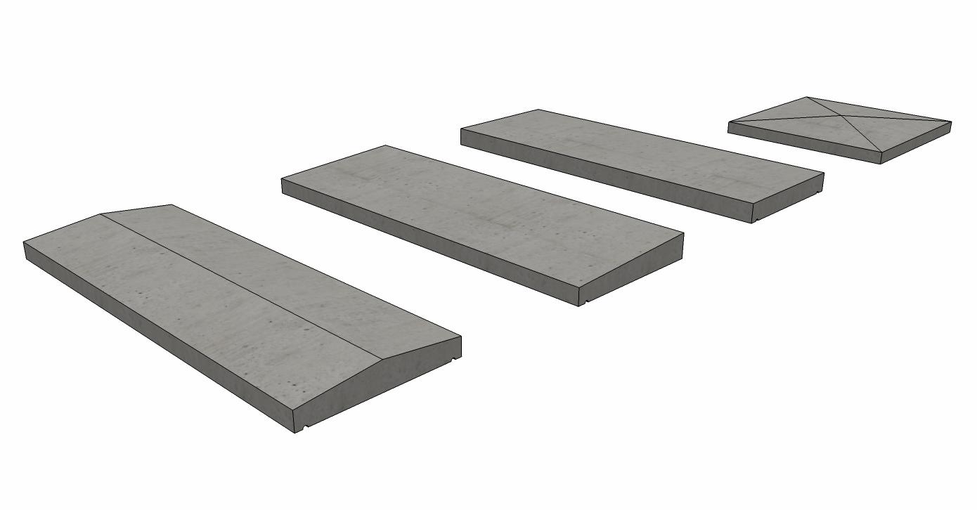 Chapeau Beton Mur – Revêtements Modernes Du Toit destiné Chapeau Cheminée Béton