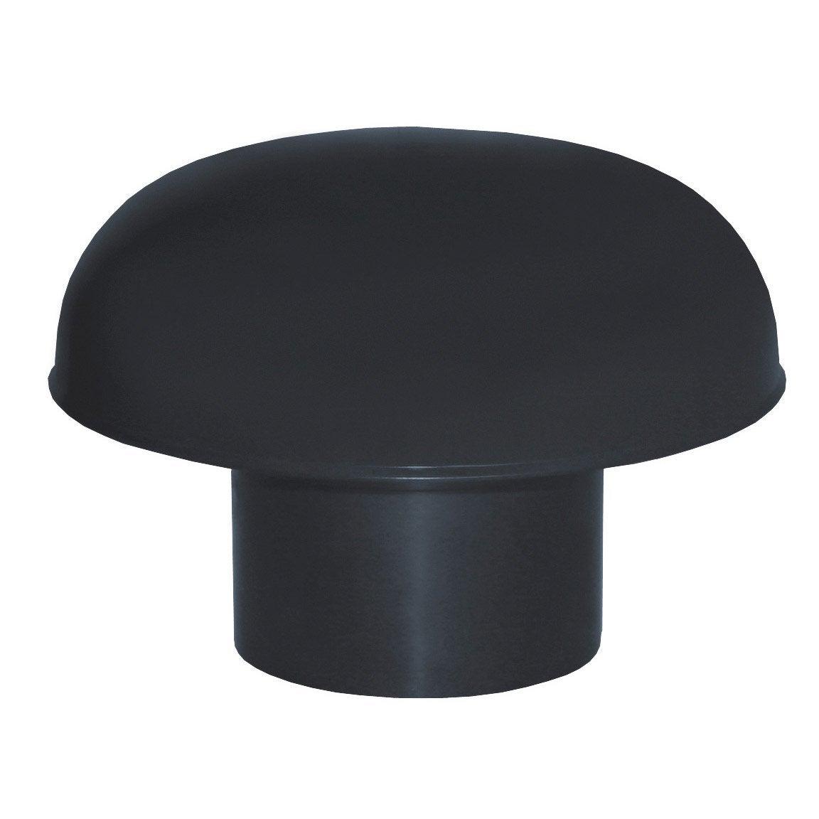 Chapeau De Ventilation Pvc Gris Ardoise First Plast, Diam encequiconcerne Chapeau Cheminée Brico Depot