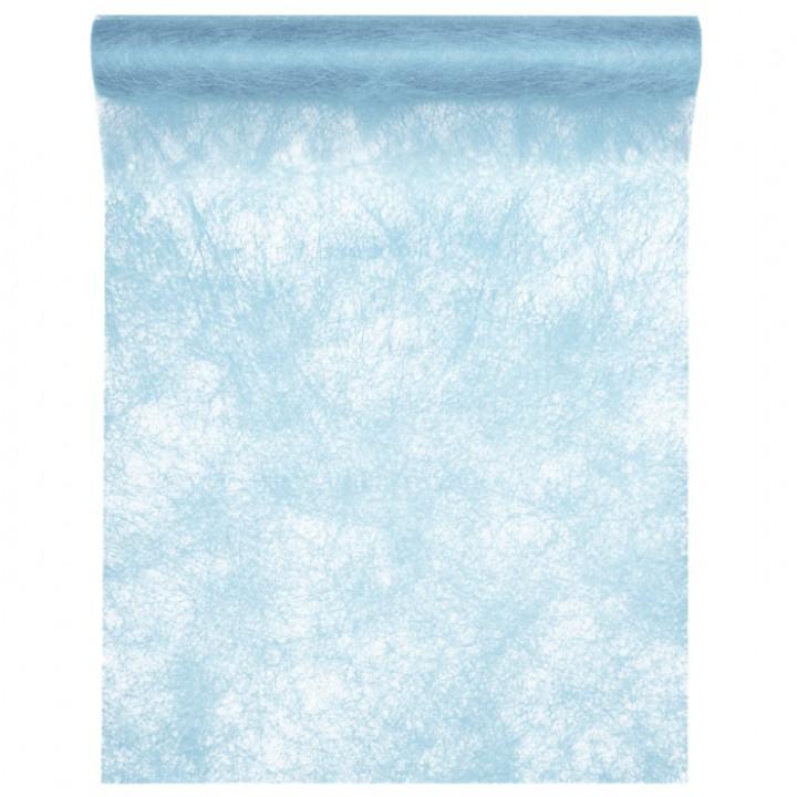 Chemin De Table Bleu Ciel 30 Cm X 10 M destiné Chemin De Table Bleu Clair