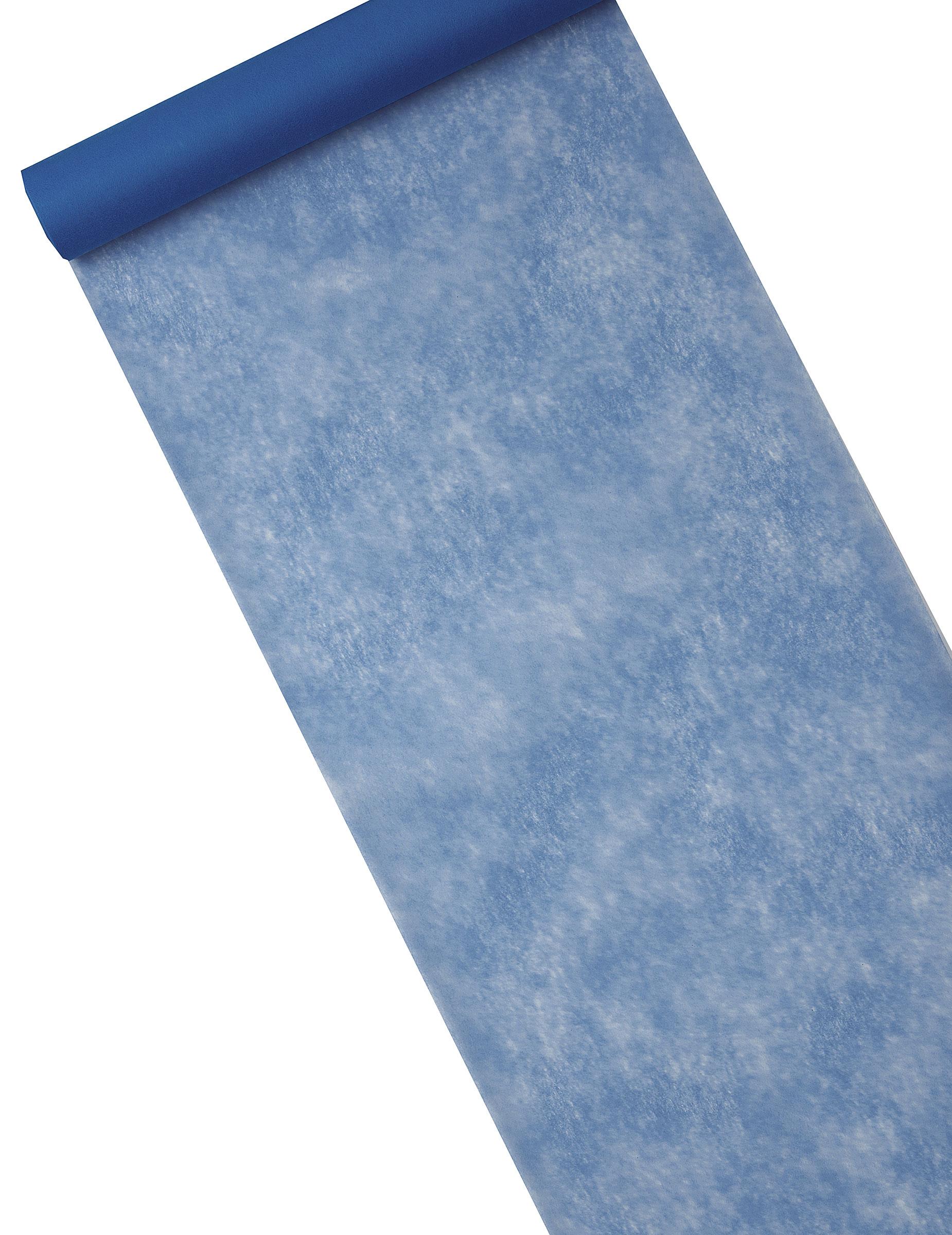 Chemin De Table Intissé Bleu Marine 29 Cm X 10 M encequiconcerne Chemin De Table Bleu Clair