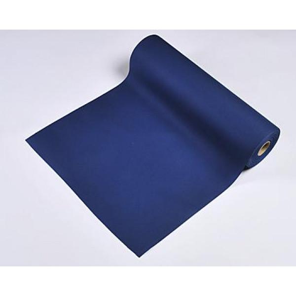 Chemin De Table Intissé Bleu Marine – Ustensiles De Cuisine intérieur Chemin De Table Bleu Clair