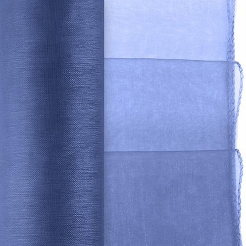 Chemin De Table Organza Bleu Marine | Hollyparty avec Chemin De Table Bleu Canard