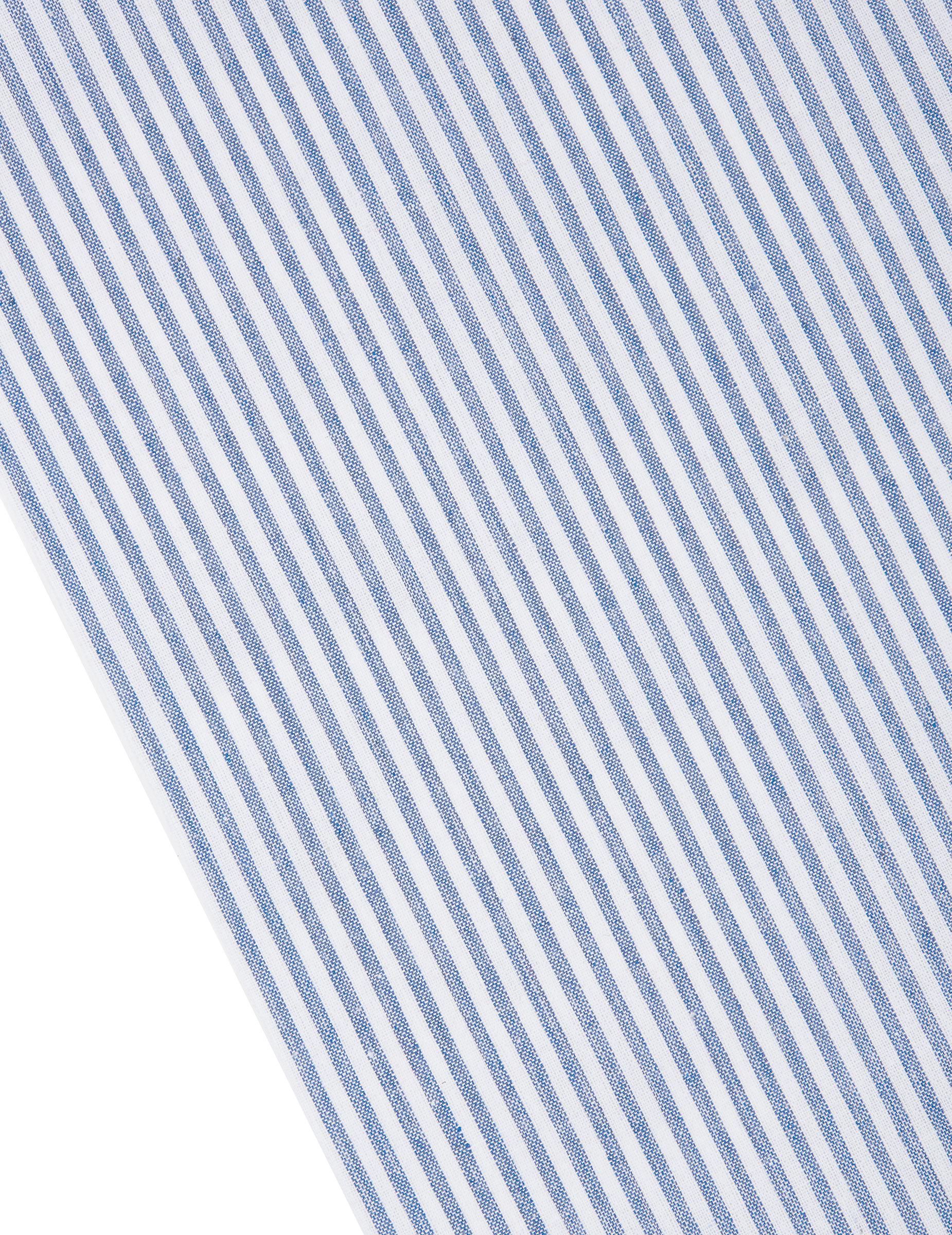 Chemin De Table Rayé Bleu Marine Et Blanc, Décoration concernant Chemin De Table Bleu Clair