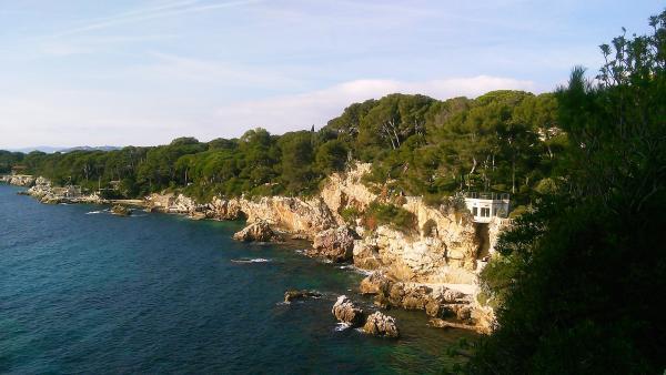 Chemin Des Douaniers - Balade À Antibes concernant Chemin Du Puy Antibes