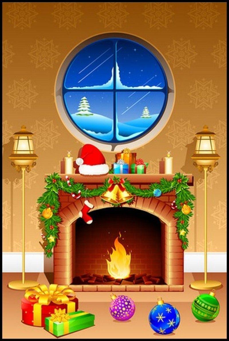 Cheminee De Noel serapportantà Cheminée De Noel