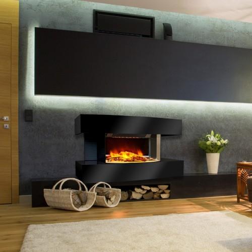 Cheminée Décorative Design Chemin'Arte Lounge Médium Sur intérieur Cheminée Electrique Design