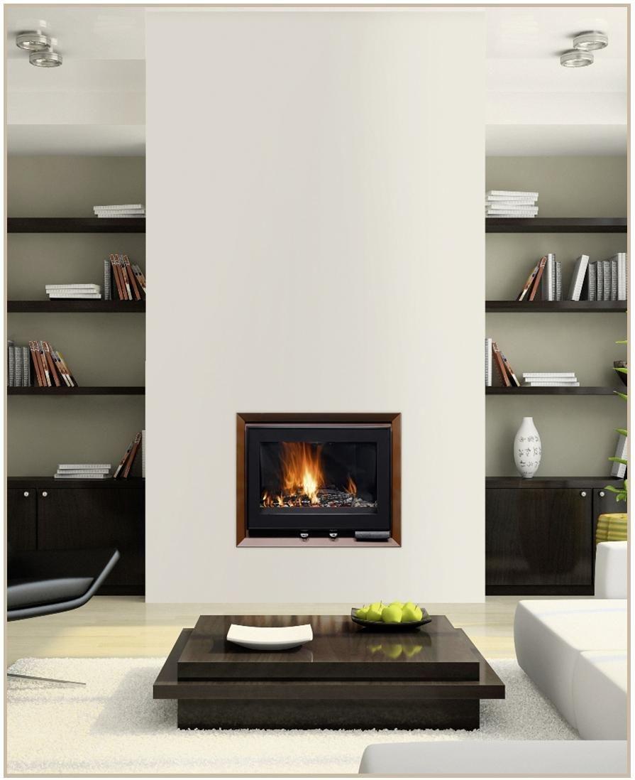 Cheminee Insert Moderne | Cheminée / Modern Fireplace En serapportantà Cheminée Electrique Design