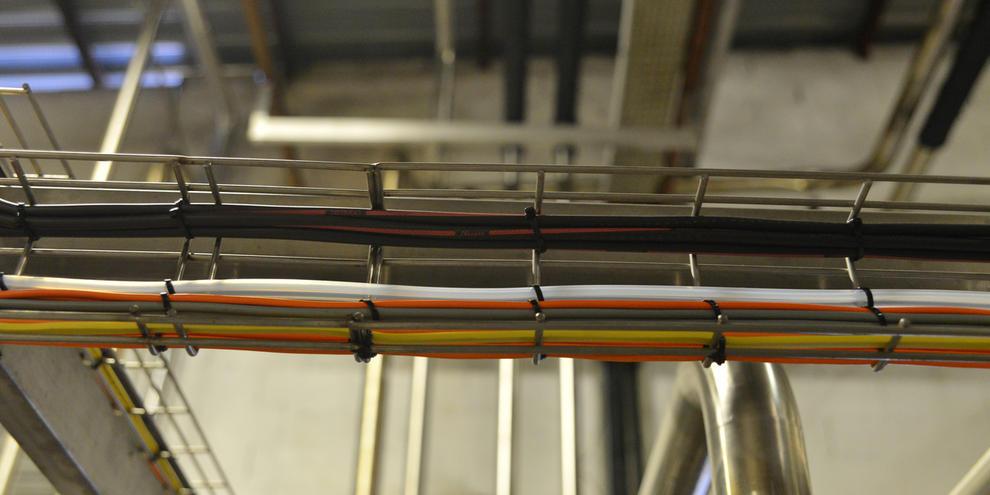 Chemins De Câbles En Inox - Tsa Inox intérieur Ces Chemin De Cable