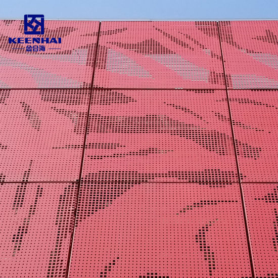 Chine Découpe Laser Bardage Façade Extérieure De L intérieur Rideau Decoupe Laser