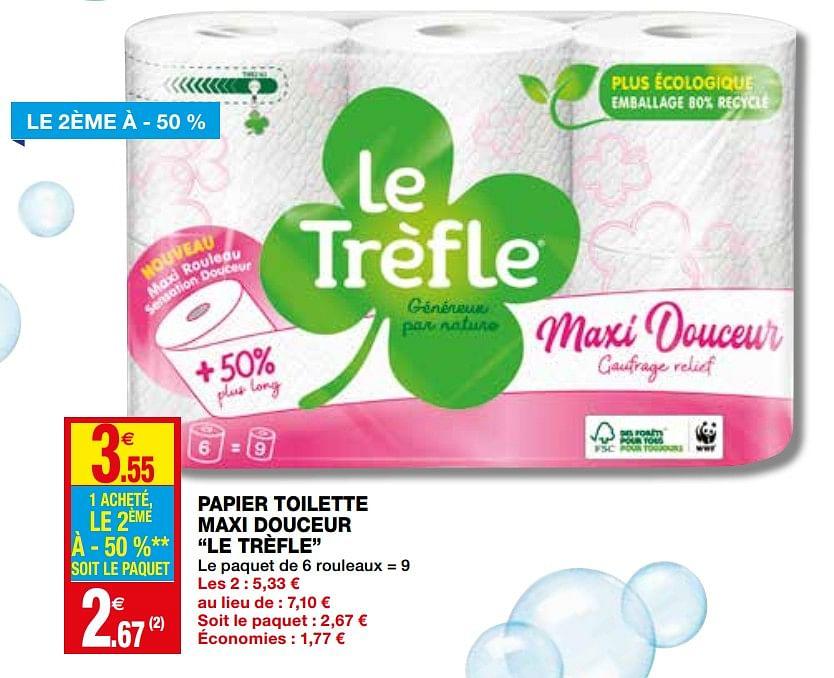Coccinelle Dépliant - Toutes Les Promotions Du Nouveau dedans Trefle Papier Toilette