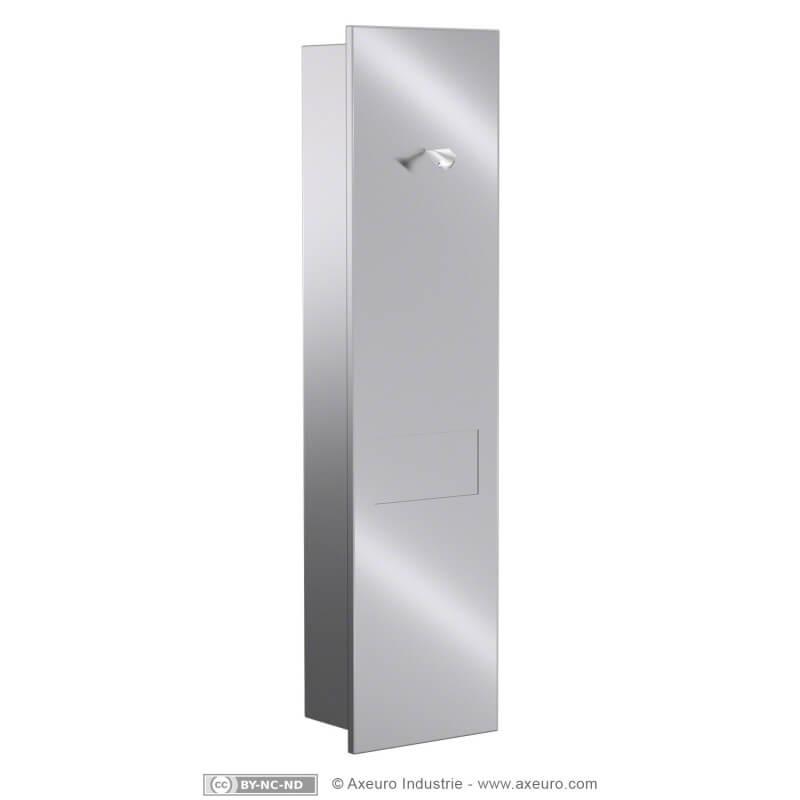 Combiné À Encastrer : Distributeur De Papier Toilette Et serapportantà Poubelle Toilette