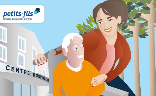 Comment Anticiper Un Retour D'Hospitalisation ? - Petits-Fils à Toilette Personne Agée