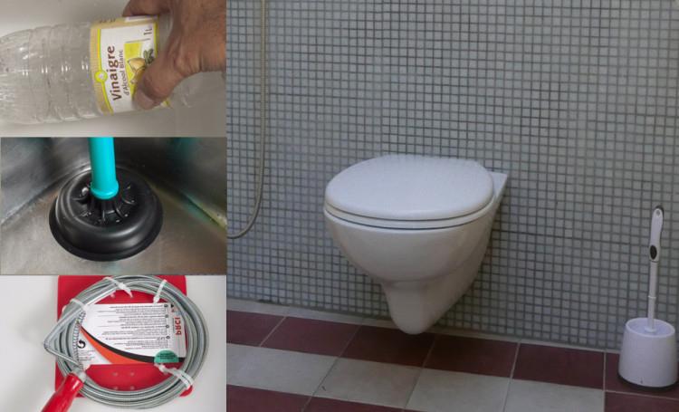 Comment Déboucher Des Toilettes : 3 Méthodes Efficaces intérieur Toilette Sanibroyeur Bouché