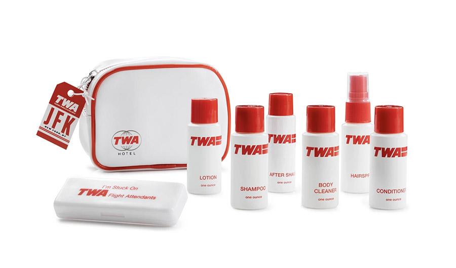 Concours Trousse De Toilette Avion Twa Hotel avec Trousse De Toilette Transparente Pour Avion