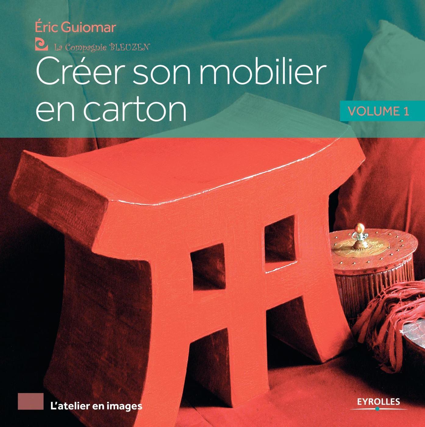 Créer Son Mobilier En Carton - Volume 1 - Éric Guiomar tout Cheminée En Carton Fiche Technique